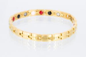 4-Elemente Armband goldfarben - e8146g2