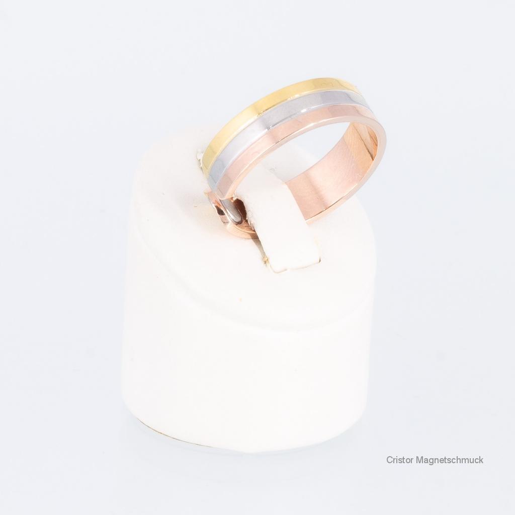 T8118BSet - Magnetschmuckset tricolor