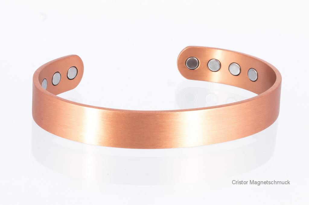 CU8374P - Kupfer-Magnetarmreife als Partnerset