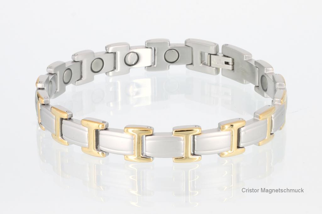 8095B - Magnetarmband bicolor