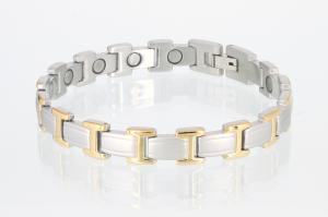 Magnetarmband bicolor - 8095b