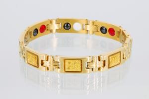 TE8302G - Titan-Energiearmband goldfarben