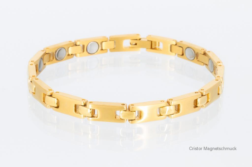8102G - Magnetarmband goldfarben