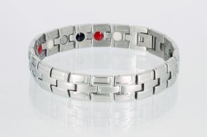 E8035S - 4-Elemente Armband silberfarben