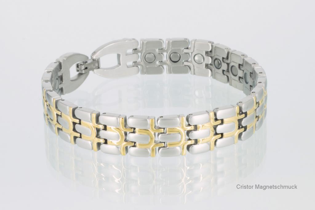 8067B - Magnetarmband bicolor