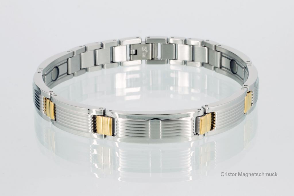 8643B - Magnetarmband bicolor