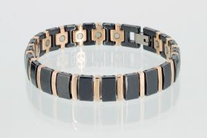 Ceramik-Magnetarmband schwarz - c8182blrg