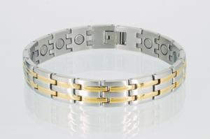 8230B - Magnetarmband bicolor