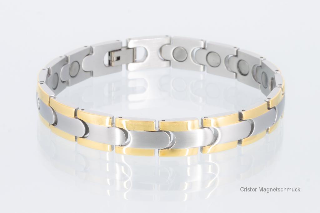 8062B - Magnetarmband bicolor