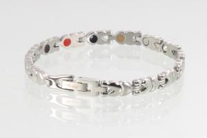 E8550S - 4-Elemente Armband silberfarben