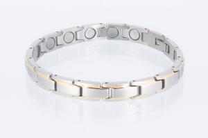 Magnetarmband bicolor mit extra-starken Magneten - 8368b4